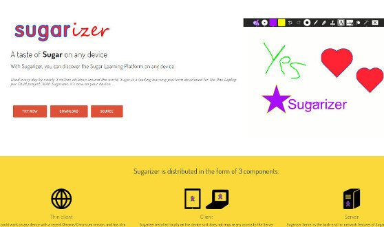 sugarizer website